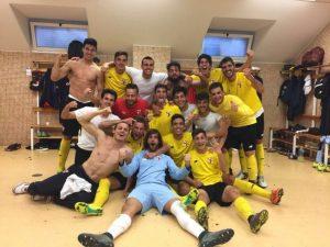 El Sevilla Atlético sorprende al líder y gana en la Nueva Condomina