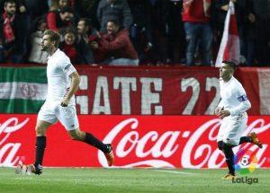 Los datos del Sevilla 1-0 Eibar