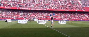 Hasta dieciocho intervenciones de Sergio Rico ante el Deportivo