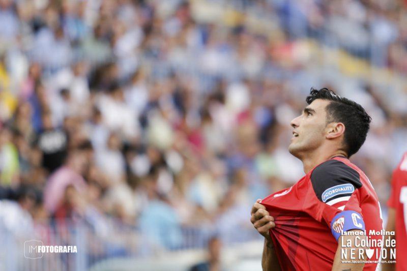 Reyes, celebrando un gol con el Sevilla   Imagen: La Colina de Nervión - Ismael Molina