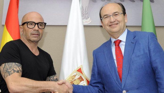 Sampaoli, nuevo entrenador del Sevilla FC