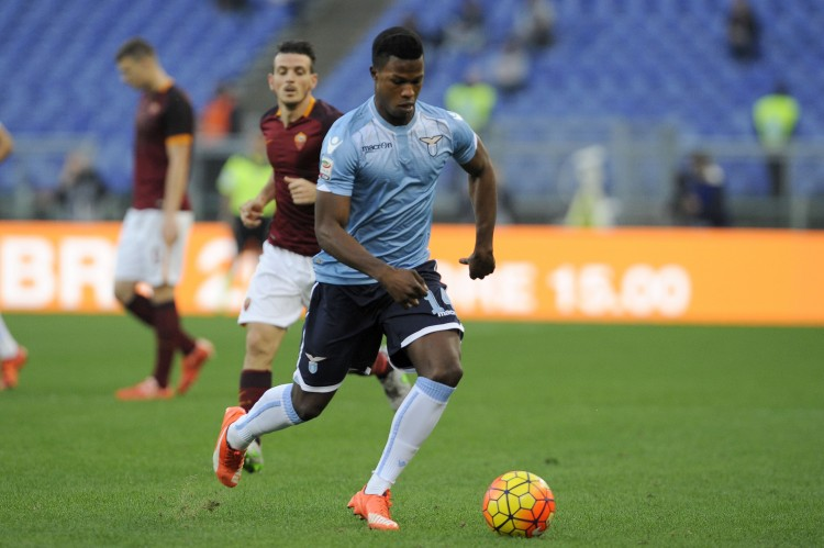 Keita Baldé, carga contra la Lazio