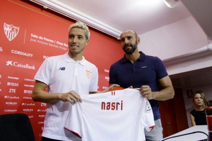 Nasri revela cómo Sampaoli le convenció para fichar