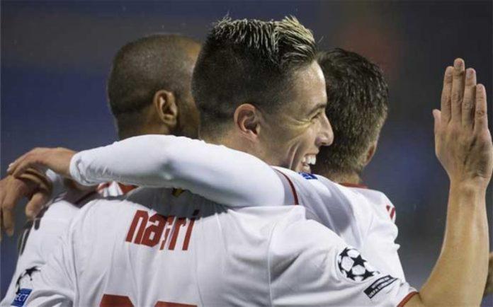 El Sevilla arrolló al Dinamo en Maksimir