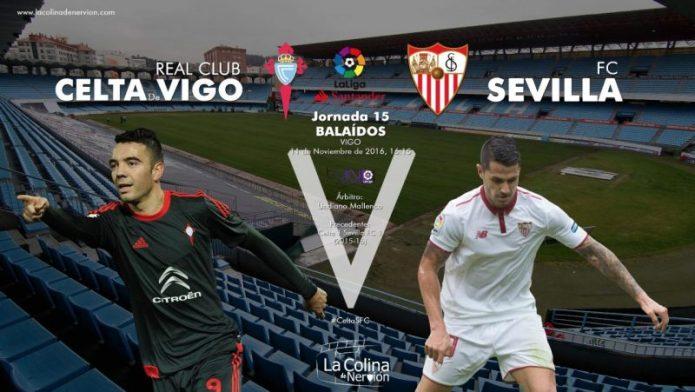El Sevilla buscará mantener la tercera plaza en Balaídos