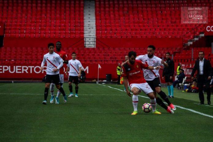 Duro tropiezo del Sevilla Atlético frente al Mallorca
