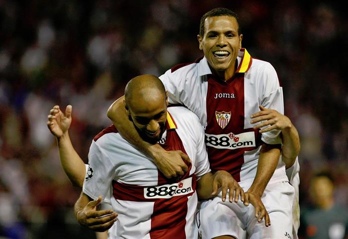 Los diez máximos goleadores del Sevilla FC