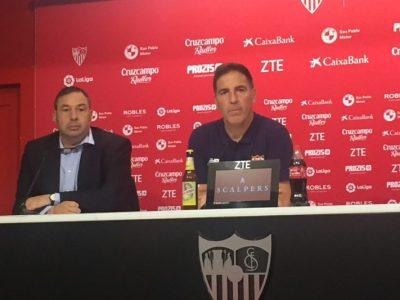 """Berizzo: """"Salimos con la convicción de ganar el partido"""""""