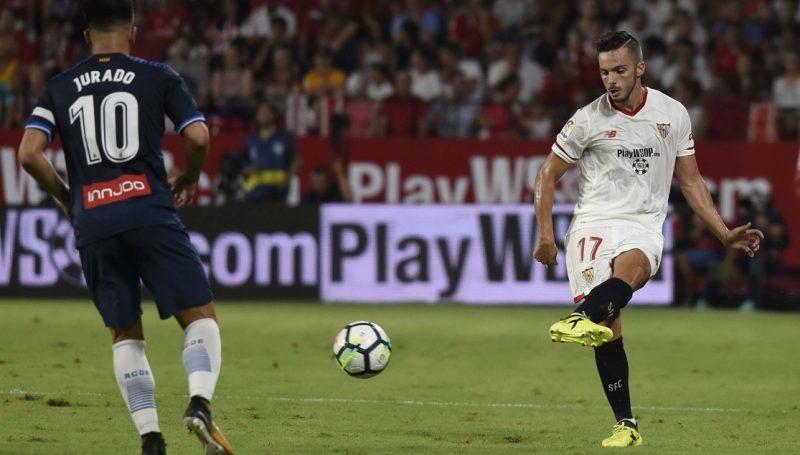 """Pablo Sarabia: """"Contra el Liverpool queremos ganar e iremos a por todas"""""""
