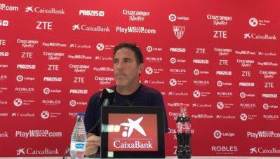 """Berizzo: """"No temo a que el Sevilla me despida"""""""