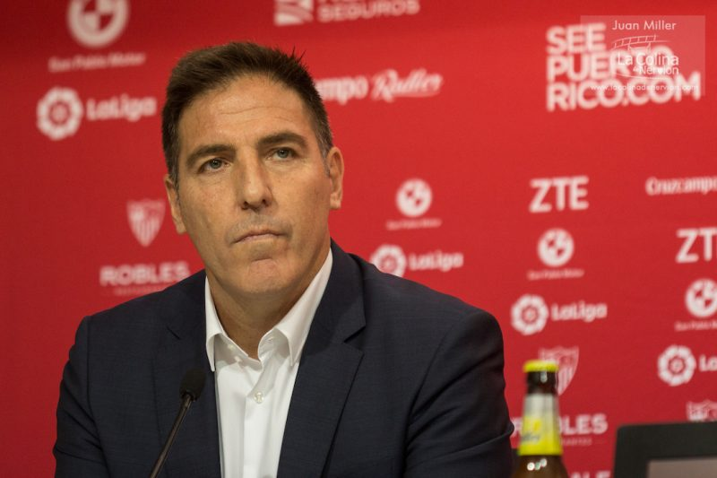 """Berizzo: """"Siempre tenemos la guardia alta y mañana espera un rival que juega muy bien"""""""