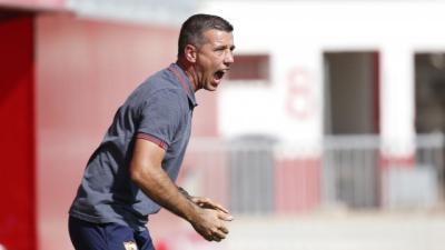"""Paco García: """"Me quedo con las ganas y el ímpetu para empatar el partido"""""""