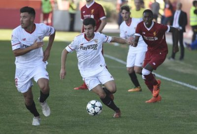 El Sevilla no puede con el Liverpool en la Youth League