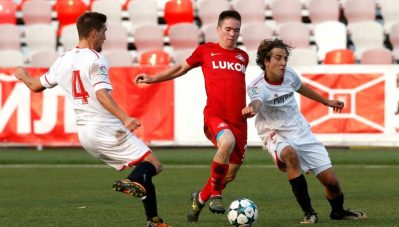 El Sevilla no pasa del empate ante el Spartak en la Youth League