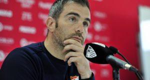 Maresca, en rueda de prensa tras su vuelta al Sevilla FC | Foto: Sevilla FC