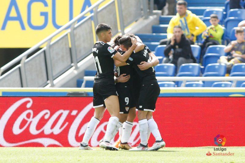 Ben Yedder y Sarabia dan la victoria al Sevilla en Gran Canaria