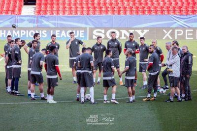 Las mejores fotos del Bayern de Múnich en Sevilla