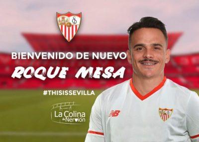 Roque Mesa, primer fichaje del Sevilla FC