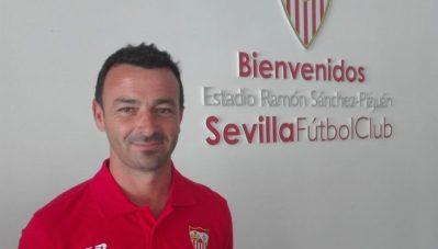 El Sevilla renueva los banquillos en la cantera
