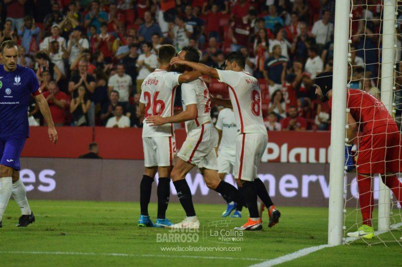 Las mejores fotos del Sevilla FC – Újpest FC