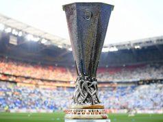 Imagen de la Copa de la Europa League durante la previa de la final entre Marsella y Atlético de Madrid | Imagen: Matthias Hangst/Getty Images)
