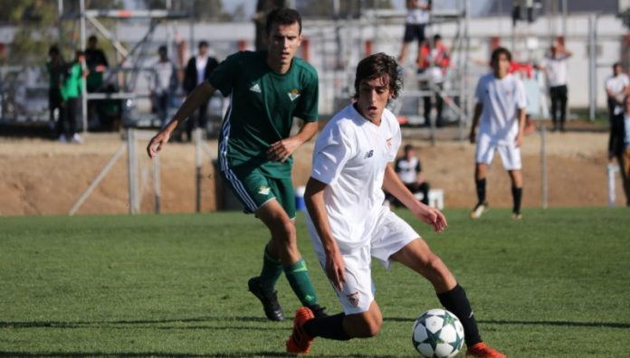 Bryan Gil, otra joven promesa en el Sevilla Atlético