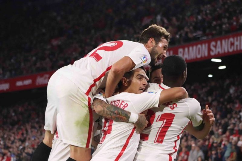 Las mejores fotos del Sevilla – Huesca