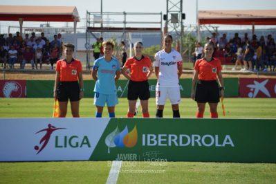 Las mejores fotos del Sevilla Femenino – Atlético de Madrid Femenino