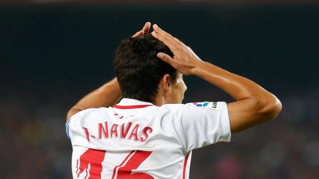 La Champions del Sevilla, al palo