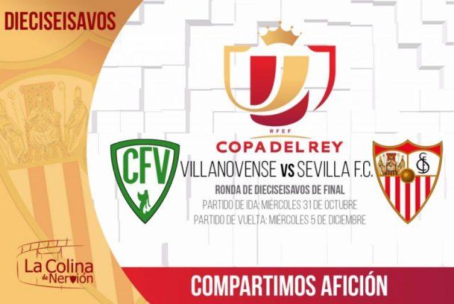 CF Villanovense, rival del Sevilla en dieciseisavos de Copa