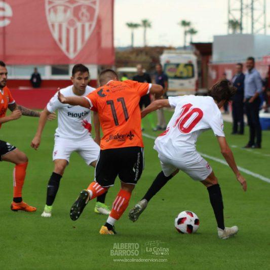 El Sevilla Atlético falla en el estreno del estadio Jesús Navas