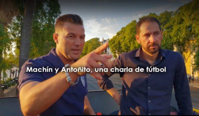 Antoñito se lleva a Machín de tour por Sevilla
