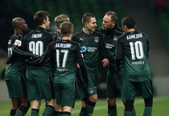 Así llega el FK Krasnodar al choque de Champions League