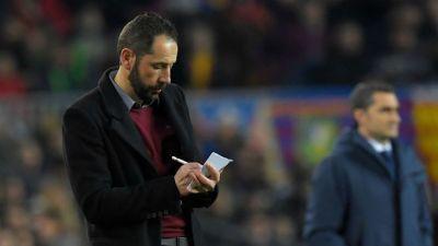 Machín, sobre la falta de acierto, la eliminación y los deméritos del Sevilla FC