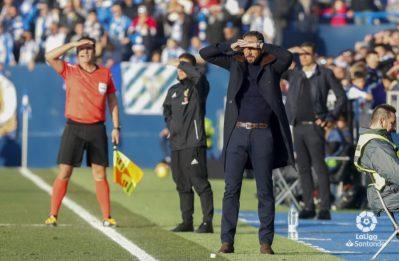 Pablo Machín, sobre el aspecto cualitativo del punto conseguido y la capacidad del equipo para sobreponerse a las adversidades