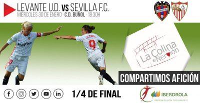 El Sevilla Femenino, en busca de la semifinal de la Copa de la Reina.