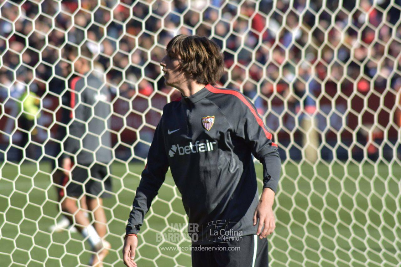 Bryan Gil, la gran novedad de la lista del Sevilla FC
