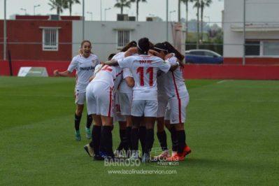 Jeni Morilla protagoniza la victoria del Femenino ante el Madrid CFF