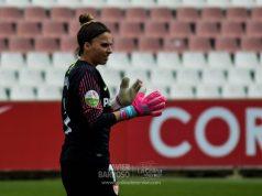 Noelia Ramos, durante el partido ante la UD Granadilla |Imagen: La Colina de Nervión - Javier Barroso