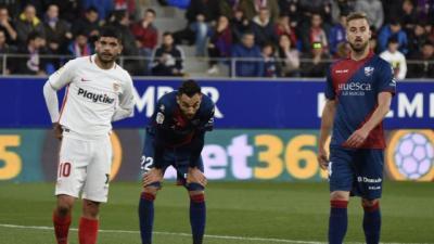 Continúa el declive del Sevilla en Liga