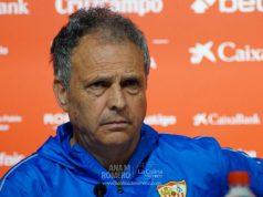 Joaquín Caparrós durante una rueda de prensa| Ana M Romero (La Colina de Nervión)