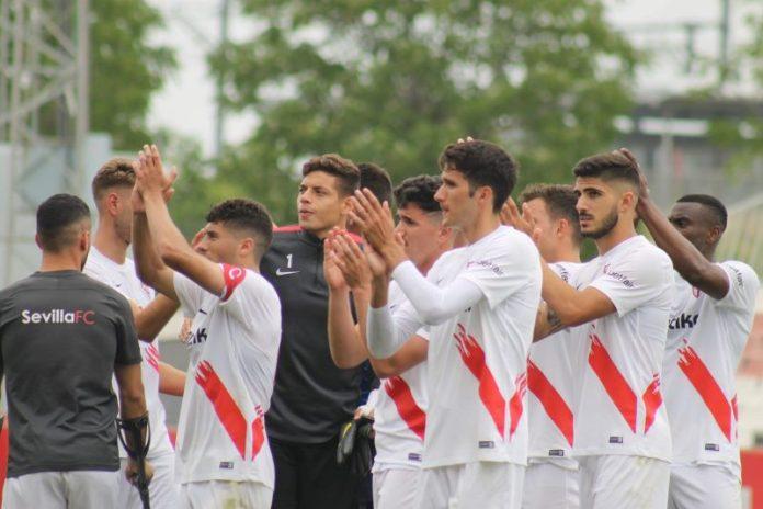 El filial se impone al Villanovense y salva el descenso directo