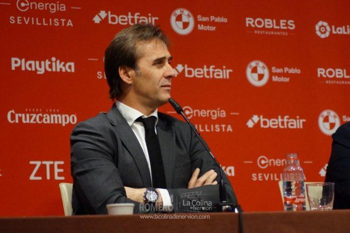 Así jugará el Sevilla de Julen Lopetegui
