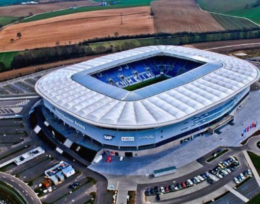 Imagen aérea del Rhein Neckar   Imagen: Sevilla FC