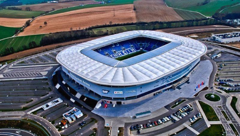 Imagen aérea del Rhein Neckar | Imagen: Sevilla FC