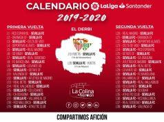 Calendario de Liga 2019/20 | Imagen: La Colina de Nervión