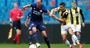 Luuk De Jong en un encuentro con el PSV   Imagen: PSV
