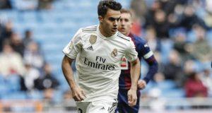 Reguilón, durante un partido con el Real Madrid | Agencias
