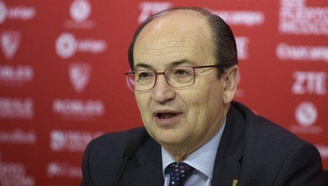 Castro, presidente del Sevilla FC
