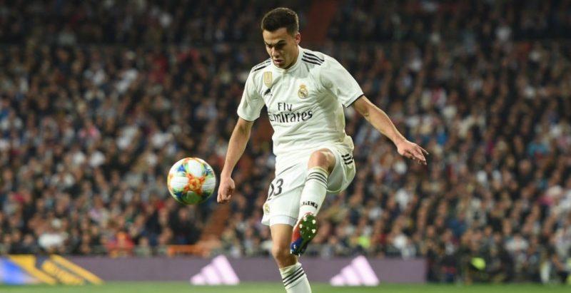 Sergio Reguilón, durante un partido del Real Madrid   Imagen: Real Madrid CF